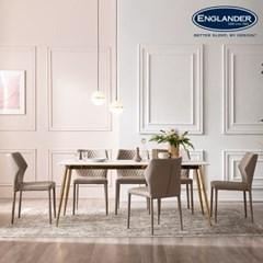 잉글랜더 베르가모 통세라믹 6인용 식탁 세트(의자6)_(12803251)