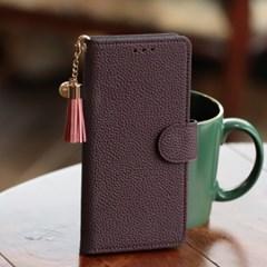 [아이콘]LG V50 (V500) Cuero_천연소가죽 다이어리 지갑_(2801887)