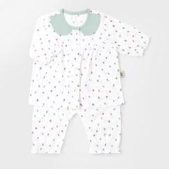 [메르베] 미니베리 아기 돌선물세트(내의+수면조끼)_여_(1480978)