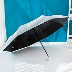 삼각 스프라이트 UV 자외선 차단 암막코팅 자동 우양산
