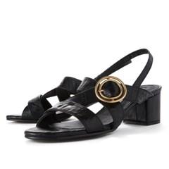 Luna sandal - black