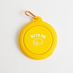 바잇미 접이식 실리콘 휴대용 식기 물그릇
