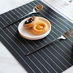 프리미어 스트라이프 식탁매트 테이블매트 2color