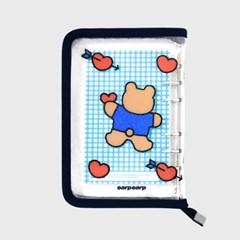 Bear heart-navy(6hole diary)_(1623131)