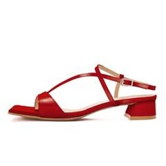 (3cm,5cm) Daze sandal-red