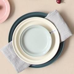 [검트리 시드니] 모던 감성 플레이팅 그릇 - 원형접시 26.5cm 5color