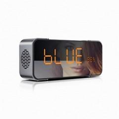 캔스톤 탁상 시계 디자인 블루투스 스피커 LX-C5 시그라더