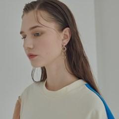 circle drop earring