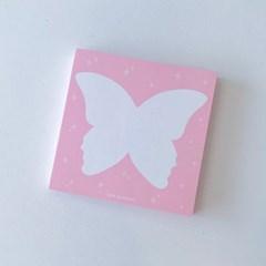 나비 떡메모지