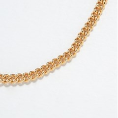 Link Chain Bracelet 4mm (14K 골드필드)