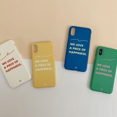 PHONE CASE. COLORFUL MESSAGE