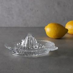 베이직 레몬 유리 스퀴즈 즙짜기