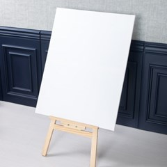직사각 캔버스 60x80cm+이젤 90cm DIY 장식 FDIYFT_(1841750)