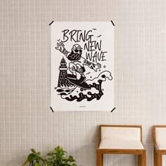 브링 뉴웨이브 M 유니크 인테리어 디자인 포스터