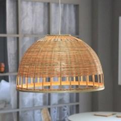 대나무 라탄 조명갓 식탁등 인테리어조명_(2442641)