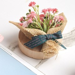 미니꽃다발 플라워 마그넷 냉장고자석 오프너(4color)_(1967606)