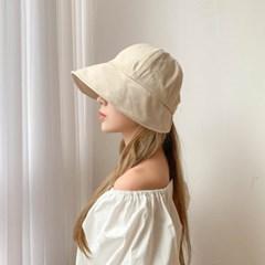 코튼 벨크로 보넷 벙거지 모자 3color