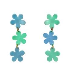 mini triple flowers