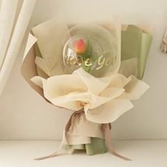 버블풍선꽃다발 - 망고튤립 (handmade) [3color]_(723608)