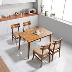 끄망메블루 플로레스타 4인 테이블