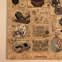 냥냥빔 우표 스티커