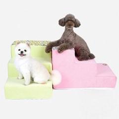 그린 레몬 펫 스텝 강아지 계단 침대