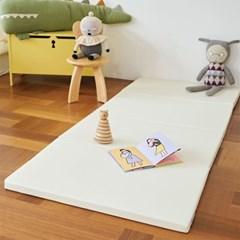 베딩베베 오로라 레인보우 4단 200x80 유아 복도형 거실 폴더매트