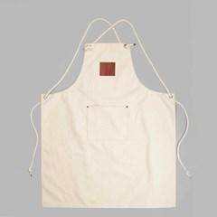 AP100 캔버스(무지) 에어프런 로프 어깨걸이형