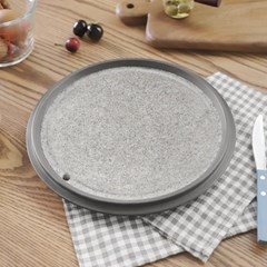 휴대용 자연석 돌 구이판 30cm 1P