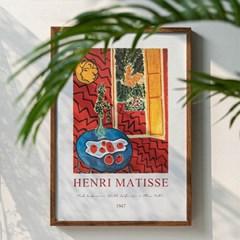 Matisse 10종 붉은실내 혹은 파란탁자 위의 정물
