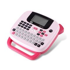 라벨프린터LMK-1000 핑크+전용아답터+테이프+건전지_(1392596)