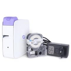 휴대용 무선 라벨프린터 LMK-2000PP 퍼플_(1392575)