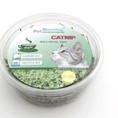 고양이 용품시리즈 펫모닝 차마시는 고양이 캣닙 12g