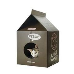 우유팩 하우스 스크레쳐 초코우유 고양이 스크래처