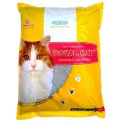 고양이 배변용품시리즈 로얄캣 베이비파우더향 10kg