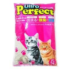 고양이 모래시리즈 울트라 퍼팩트 모래 레몬향 5L