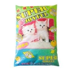 고양이 배변용품시리즈 슈퍼 조이풀 고양이모래 5kg