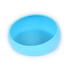 수퍼펫 실리콘 식기 블루 고양이 애견 그릇 쌍식기