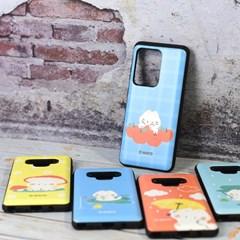 국내 캐릭터 마요 정품 카드 슬라이더 케이스 - 갤럭시