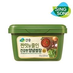 신송 짠 맛을 줄인 장세트 재래된장 500g 고추장 500g 쌈장 500g
