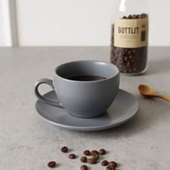 에크렌(Ecrins) 노블 도자기 커피잔 1인세트-4color