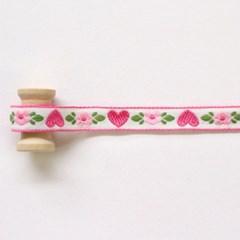 핑크하트 에스닉리본 90cm_(1318669)