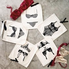[백올]BOW LINGERIE BAG
