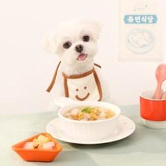 [굽네x듀먼] 강아지보양식 영양듬뿍 삼계탕&북어탕 10팩 세트
