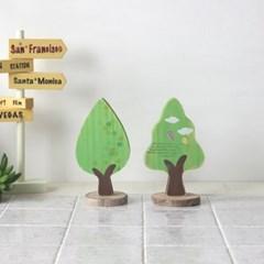 초록나무모형(2p set)
