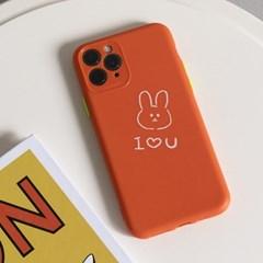 커플 곰돌이 토끼 아이폰 폰케이스 ac-9138c_(1189775)
