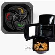 스위스밀리터리 10L 디지털 에어프라이어 오븐 (블랙)_(1318987)