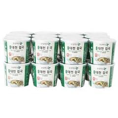 [농사랑]모양맛김 대천김국 9g 컵 x 24개_(1396889)