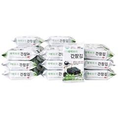 [농사랑]모양맛김 새싹보리간장김 3g 도시락김 x 30봉_(1396883)