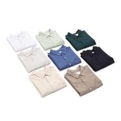 여름 LAINE 레인 냉장고 오버핏 기본 텐셀 긴팔 셔츠 남방